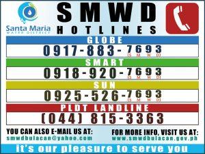 SMWD Hotine Number