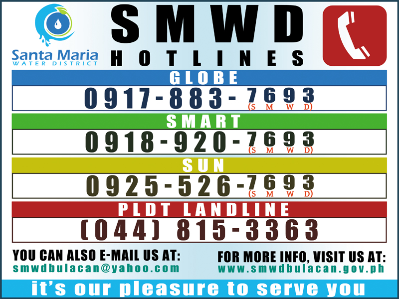 SMWD Hotine Number